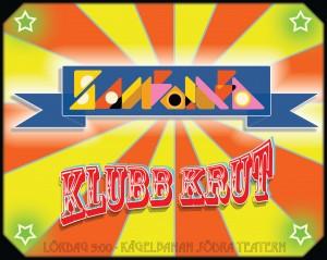 Sambomba_KlubbKrut_affisch